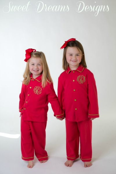 Christmas Lounge Wear - Red - Children & Adult