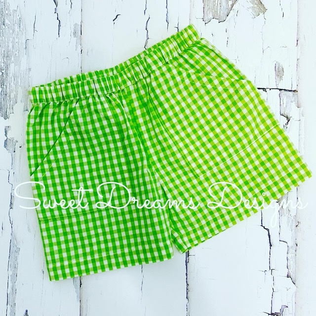 The Best Shorts Ever- Lime Check