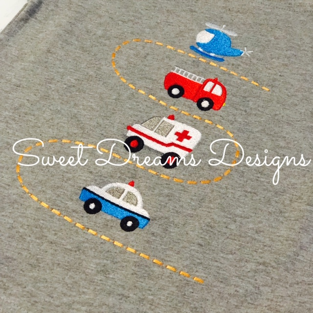 Our Exclusive Design - Rescue Vehicles Tee
