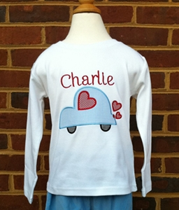 Boy's Valentine Tee - Love Bug